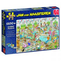 Jumbo Jan van Haasteren puzzel Taarten Toernooi - 1500 stukjes