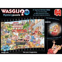 Jumbo Wasgij puzzel Mystery 15 Een echt Britse BBQ! - 1000 stukjes.