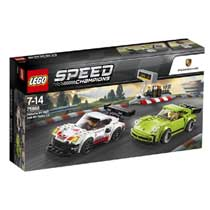 LEGO Speed Champions Porsche 911 RSR en 911 Turbo 3.0 75888
