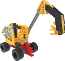 BUILDING SETS - EXCAVATOR BUILDING SET (