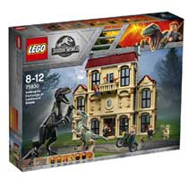 LEGO Jurassic World Indoraptorchaos bij Lockwood Estate 75930