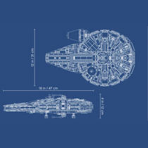 LEGO SW 75212 KESSEL RUN FALCON