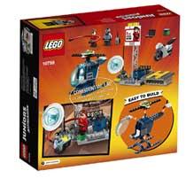 LEGO 10759 ELASTIGIRLS ROOFTOP PURSUIT J