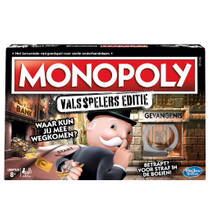 MONOPOLY VALSSPELERS EDITIE *NL