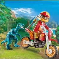 PLAYMOBIL 9431 MOTORCROSSER MET RAPTOR