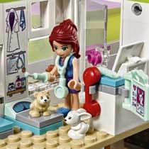 LEGO FRIENDS HUISDIERENCENTRUM 41345