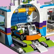 LEGO FRIENDS AUTOWASSTRAAT 41350