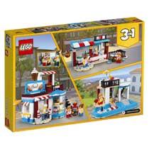 LEGO CREATOR 31077 MODULAIRE TRAKTATIES