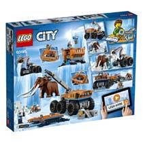LEGO CITY ONDERZOEKBASIS NOORDPOOL 60195