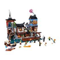 LEGO NINJAGO 70657 CITY HAVEN