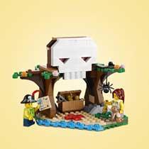 LEGO CREATOR 31078 BOOMHUTSCHATTEN