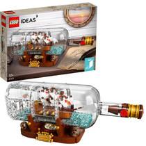 LEGO IDEAS 21313 SCHIP IN EEN FLES