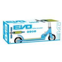 EVO INLINE SCOOTER BLUE/GREEN INKLAPBAAR