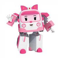 Robocar Poli mini transformerende robot Amber