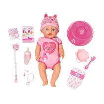 BABY born soft touch pop meisje - roze