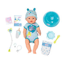 BABY born soft touch pop jongen - blauw
