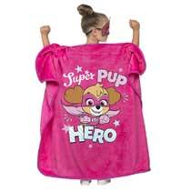 PAW Patrol deken Super Pup Hero - roze