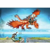 PLAYMOBIL DRAGONS 9459 SNOTKROT & HAAKTA
