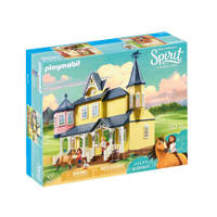 PLAYMOBIL Spirit speelset Lucky's huis 9475