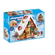 PLAYMOBIL Christmas kerstbakkerij met koekjesvormen 9493