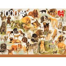 Jumbo Premium Collection puzzel hondenposter - 1000 stukjes