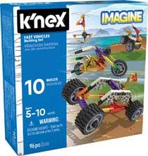 K'NEX snelle voertuigen bouwset