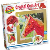 Crystal Gem Art wild paard