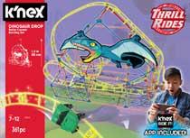 K'NEX dinosaurus dalende achtbaan