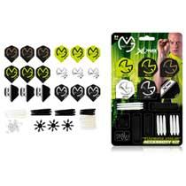 XQ Max Michael van Gerwen dart accessoireset - 84-delig