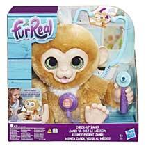 FurReal Friends Zandi het zieke aapje