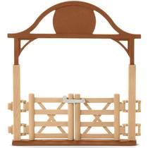 Schleich figuur omheining voor paarden met poort 42434