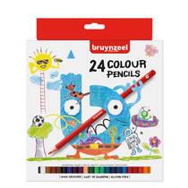 Bruynzeel kleurpotloden - 24 stuks