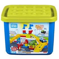 Mega Bloks raceauto garage