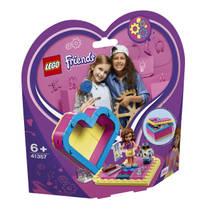 LEGO Friends Olivia's hartvormige doos 41357