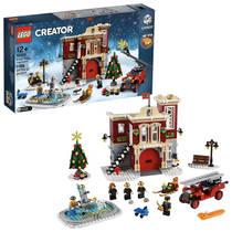 LEGO Creator brandweerkazerne in winterdorp 10263