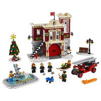 LEGO 10263 BRANDWEERKAZERNE WINTER HTF