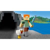 LEGO 21149 MINECRAFT BIGFIG ALEX MET KIP