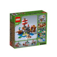 LEGO 21152 AVONTUUR OP HET PIRATENSCHIP