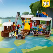 LEGO CREATOR 31093 WOONBOOT AD RIVIER