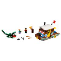 LEGO 31093 WOONBOOT AAN DE RIVIER