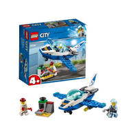 LEGO City luchtpolitie vliegtuigpatrouille 60206
