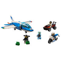 LEGO 60208 PARACHUTE-ARRESTATIE