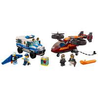 LEGO 60209 LUCHTPOLITIE DIAMANTROOF