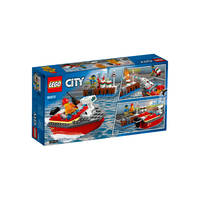 LEGO 60213 BRAND AAN DE KADE