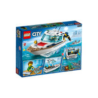 LEGO 60221 DUIKJACHT