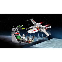 LEGO 75235 4+X-WING STRFGHTR TRENCH RUN