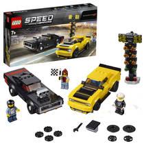LEGO Speed Champions 2018 Dodge Challenger SRT Demon en 1970 Dodge Charger R/T