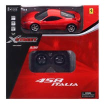 Op afstand bestuurbare auto Ferrari 458 Italia 1:32 - rood