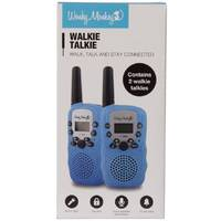 WALKIE TALKIE SET BLAUW