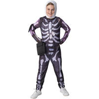 FORTNITE TWEEN SKULL TROOPER 9-10 YRS